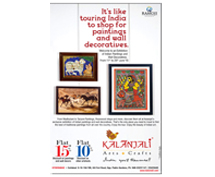 Touring India to shop for Paintings and wall Decorative