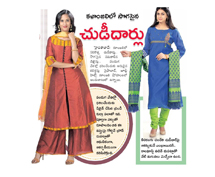 Kalanjali presents elegant and contemporary chudidar sets