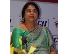 Mrs. Sailaja kiron at Women's leadership conclave