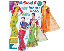 The best quality Cotton and Sico sarees hand printed, comfortable for any occassion