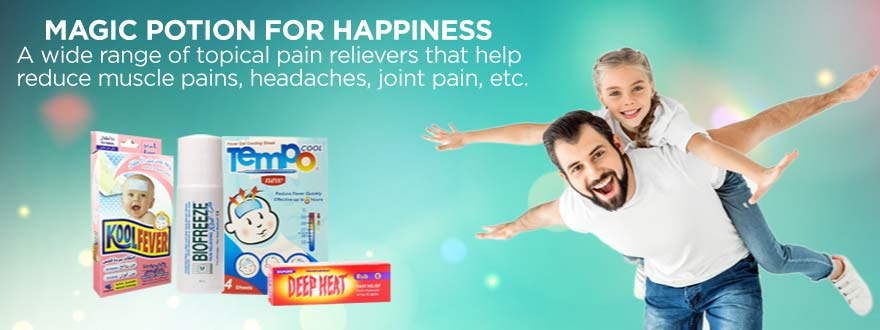 TOPICAL PAIN RELIEVERS