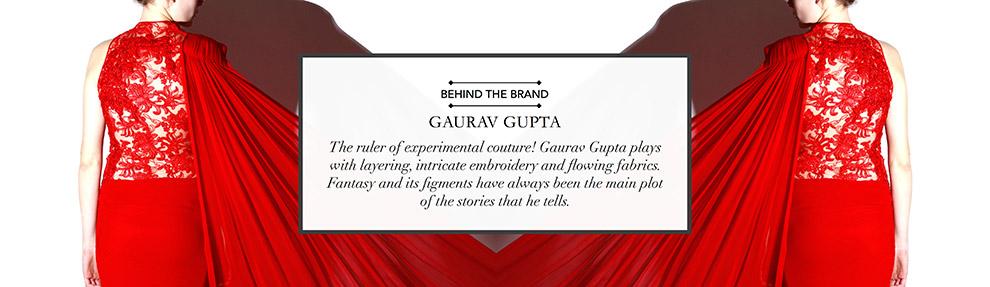 896de1def7d Buy Online Best Saree Gown Top Dress - Gaurav Gupta