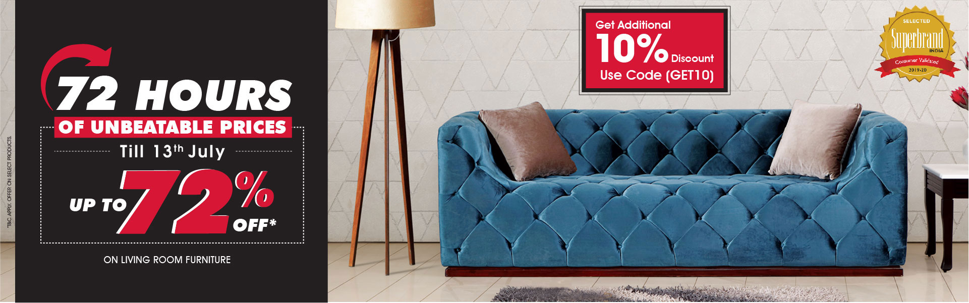 72 Unbeatable Price on Living Furniture