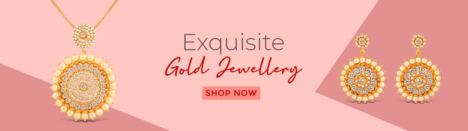 Gold Jewellery Banner