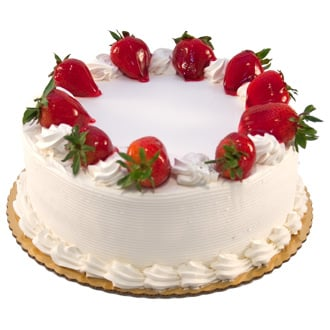 1Kg Eggless Strawberry Cake
