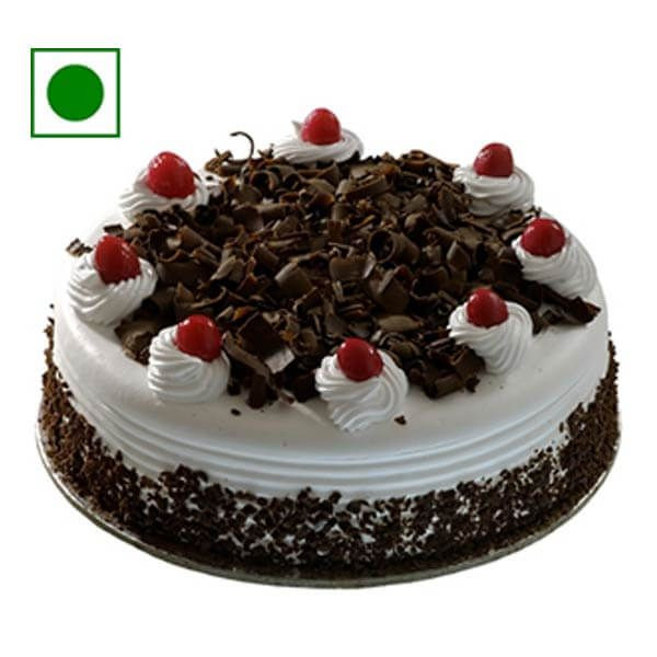 2Kg Eggless Black Forest Cake