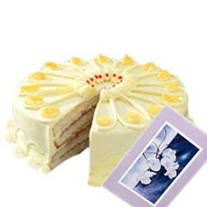 1Kg Butter Scotch Cake n Greeting Card