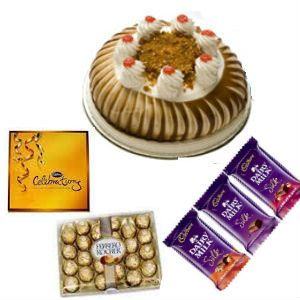 Buttersctoch Cake n Mix Chocolates