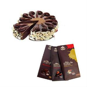1Kg Chocolate Cake n Bournville Chocolates