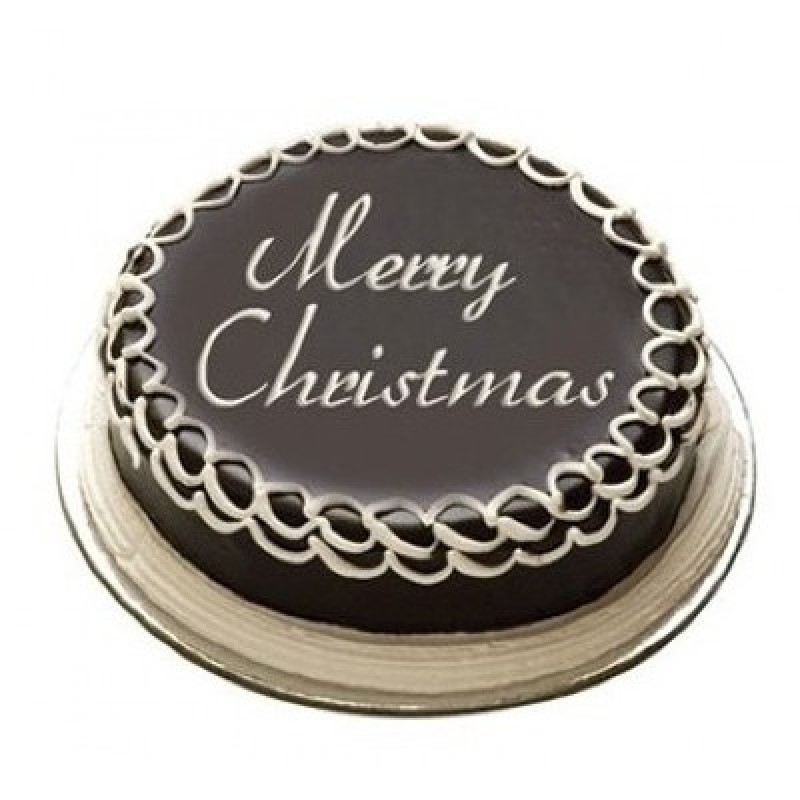 Christmas Chocolate Truffle Cake