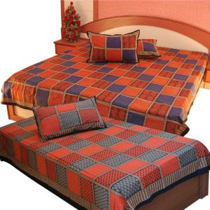 Double Bedsheet Set n Get Single Bedsheet Free