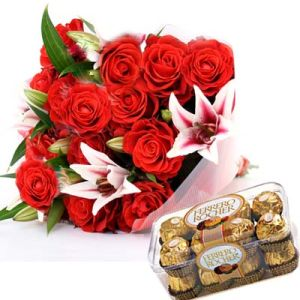 Exotic Flowers n Chocolates