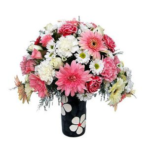 Bunch of 20 Carnations n Gerberas