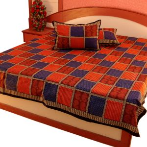 Pure Cotton Double Bed Sheet Home Furnishing