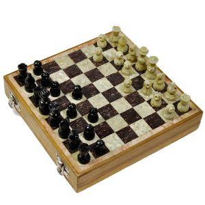 Real Makrana Marble Chess Board Handicraft
