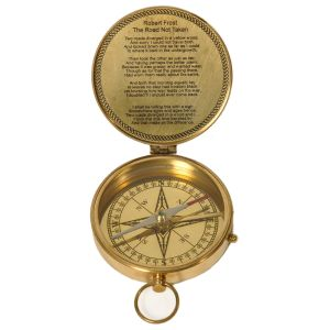 Pure Brass Direction Finder Traveller Compass