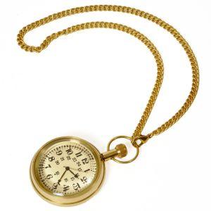 Antique Design Usable Real Brass Gandhi Watch