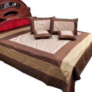 Jaipuri Designer Double Bedcover Cushion Set