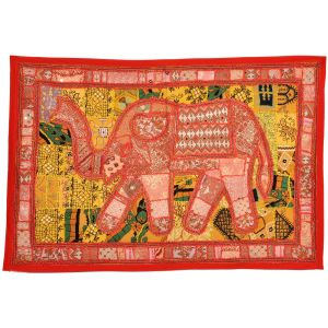 Rajasthani Embroidered Applique Wall Hanging