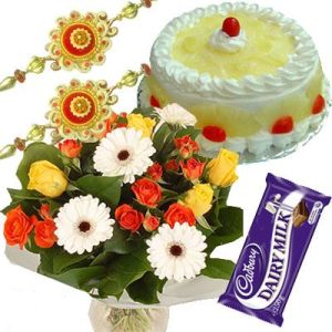 Fancy Rakhis Combo Hamper