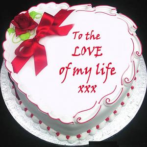 1 Kg Valentines Day Vanila Cake