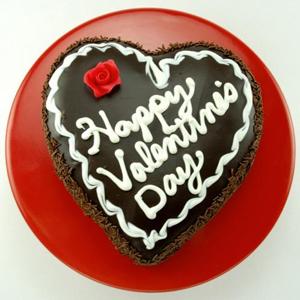1 KG V'Day Heart Shape Choco Cake