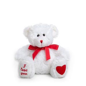 V'Day White Bear