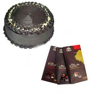Truffle Cake with Bournville