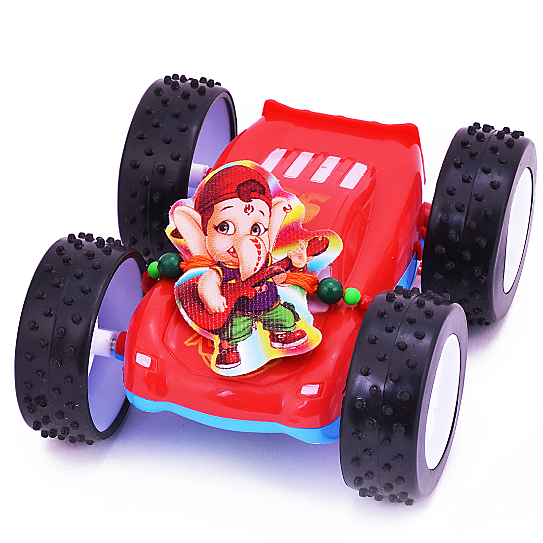 Colorful Racing Car Toy Kids Rakhi