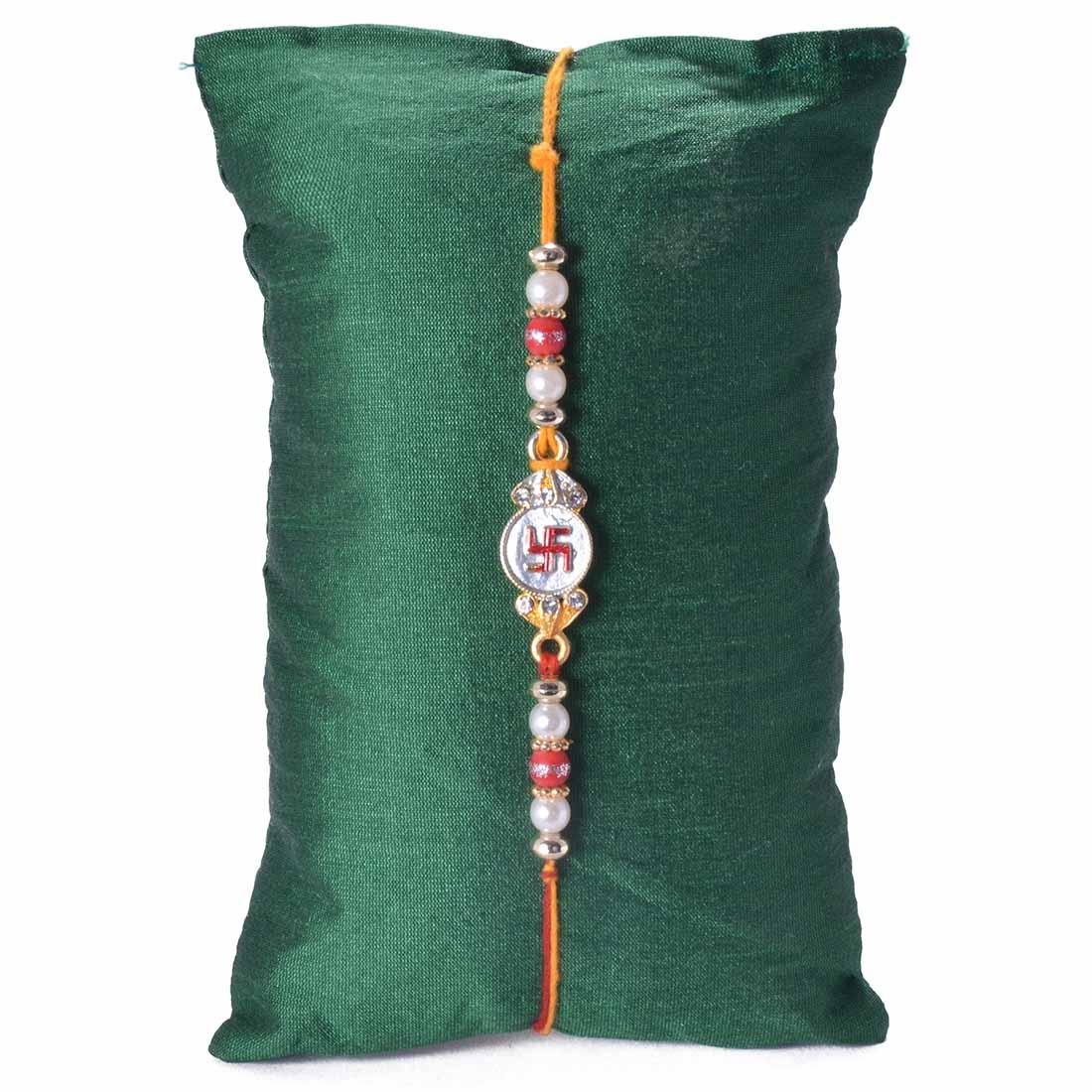 Ethnic Handcrafted Jewel Rakhi