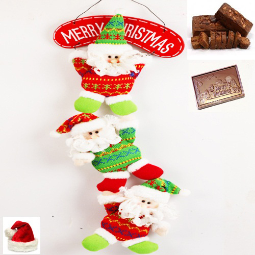 Door Hanging Christmas Chocolate Hamper