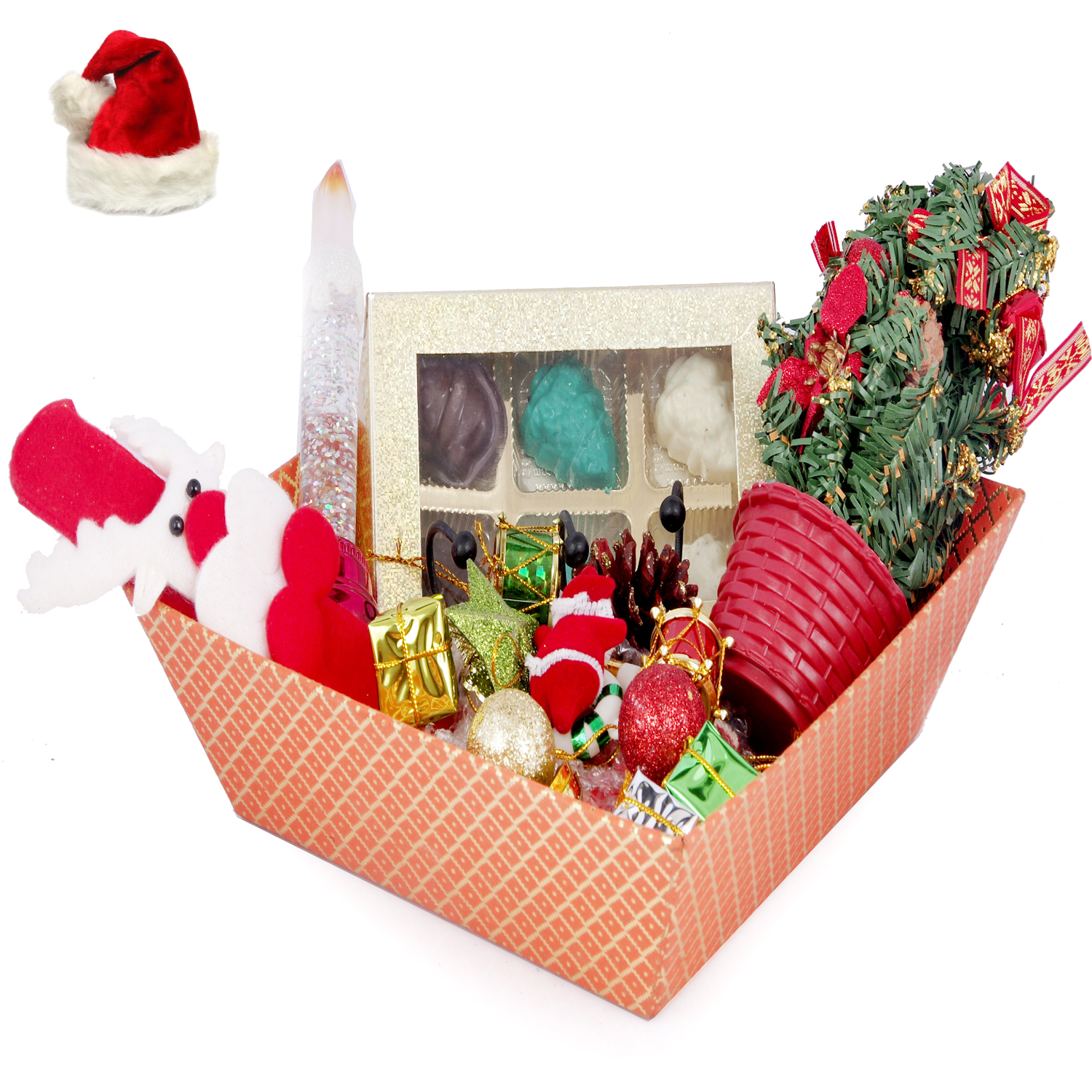 Christmas Tree Chocolate Hamper