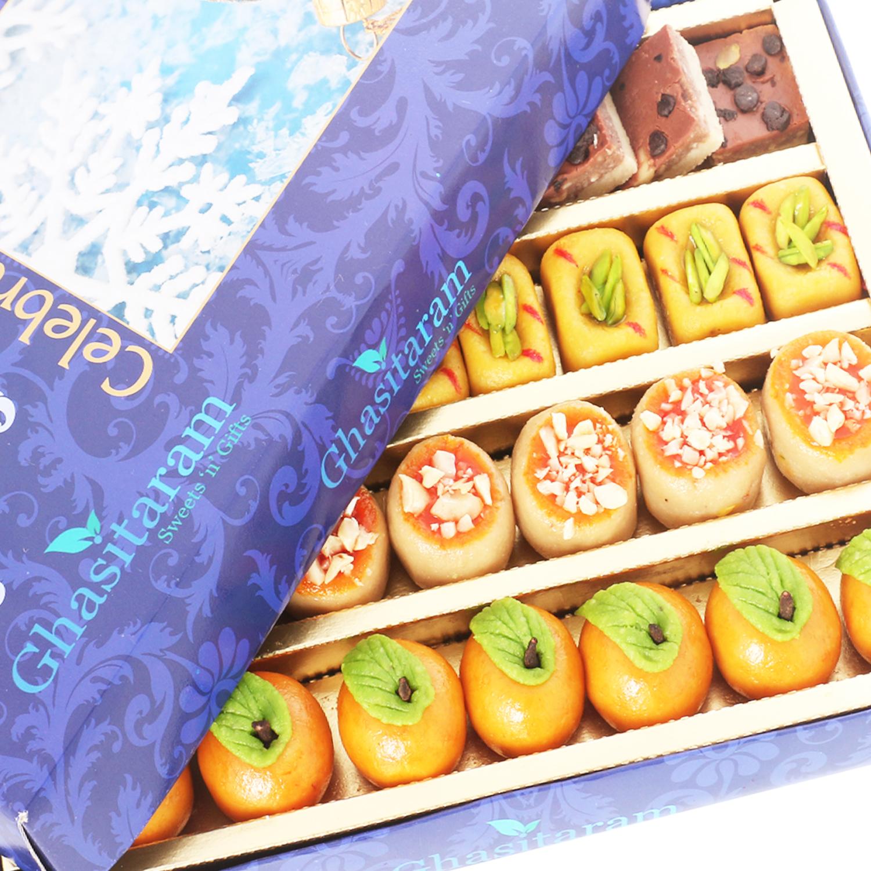 Kaju Sweets Assorted Box 400Gm
