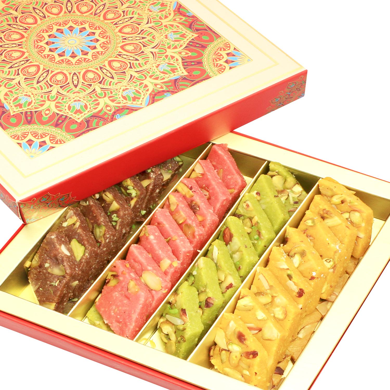 Assorted Kaju Katlis in Fancy Box