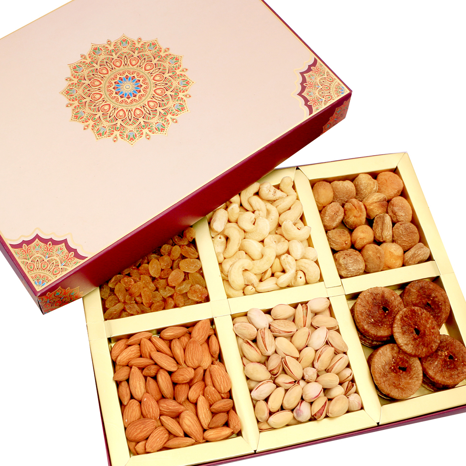 Fusion 6 part Dryfruit Box