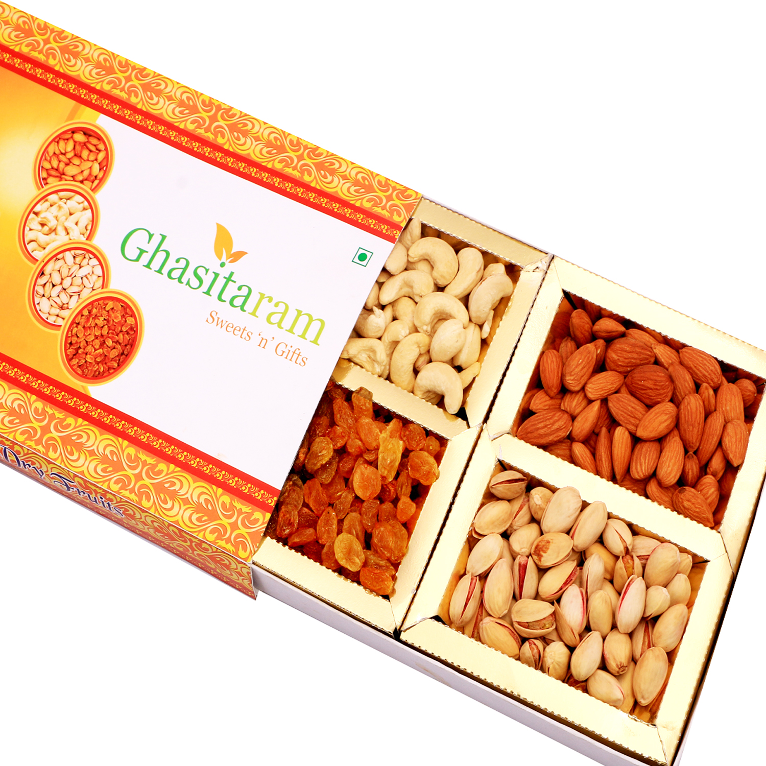 Orange Dryfruit Box 200Gm