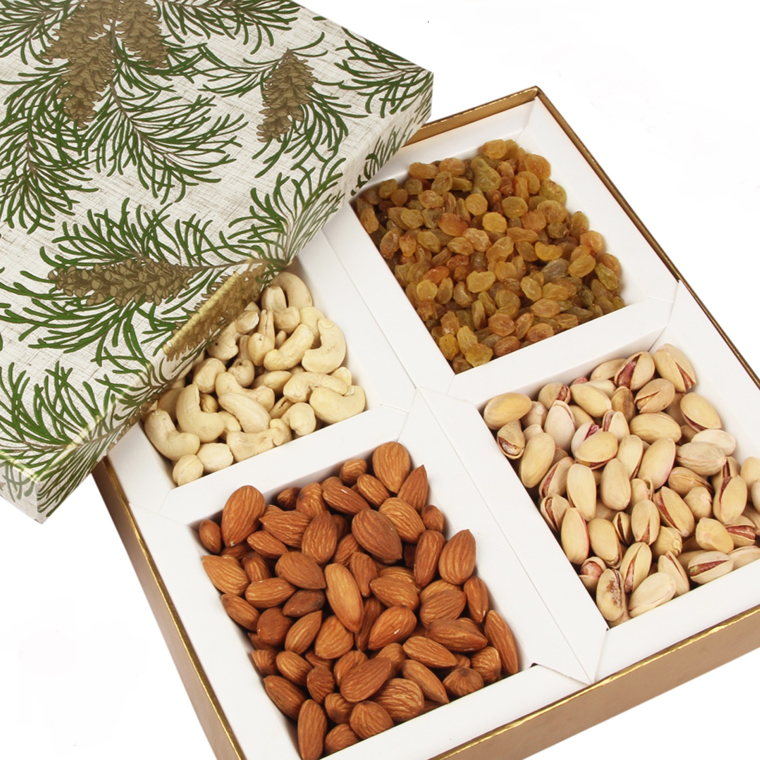 Green Leaf Dryfruit Box