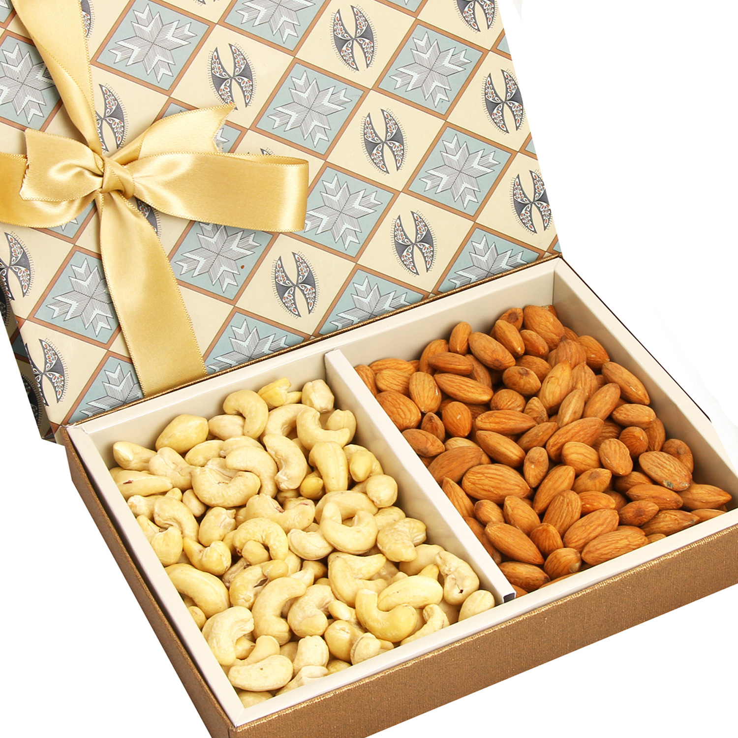 Grey Cashew Almonds Box 400Gm