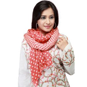 Red Dots Scarf