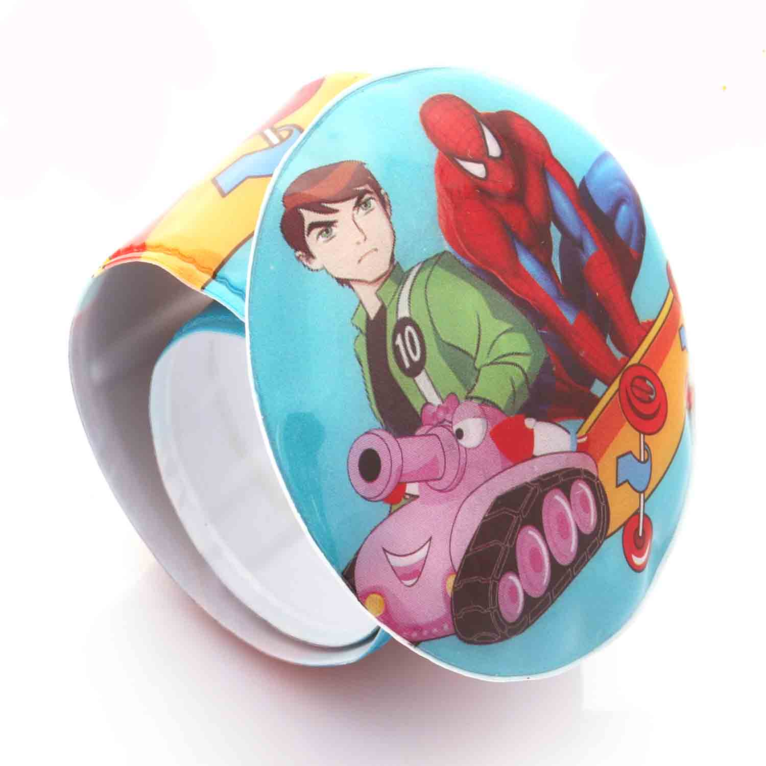 Dual Batman Spiderman Light Band