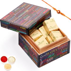 Rakhi with Ideal Brother Chocolate Box