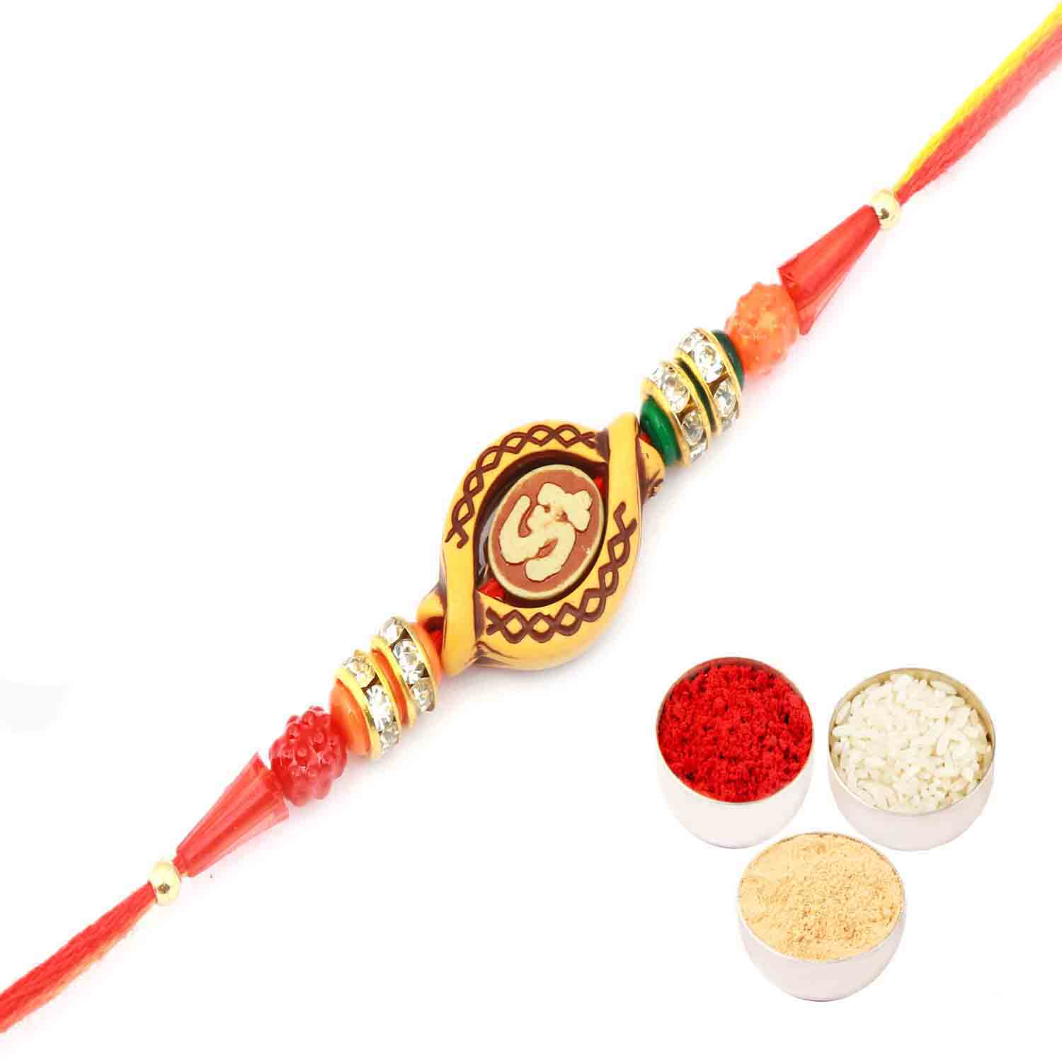 Om Rakhi Thread