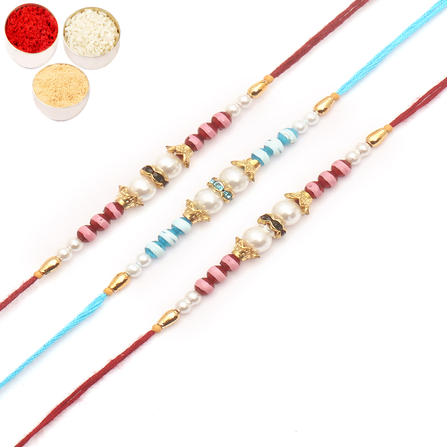 Set of 3 R0158 Rakhis