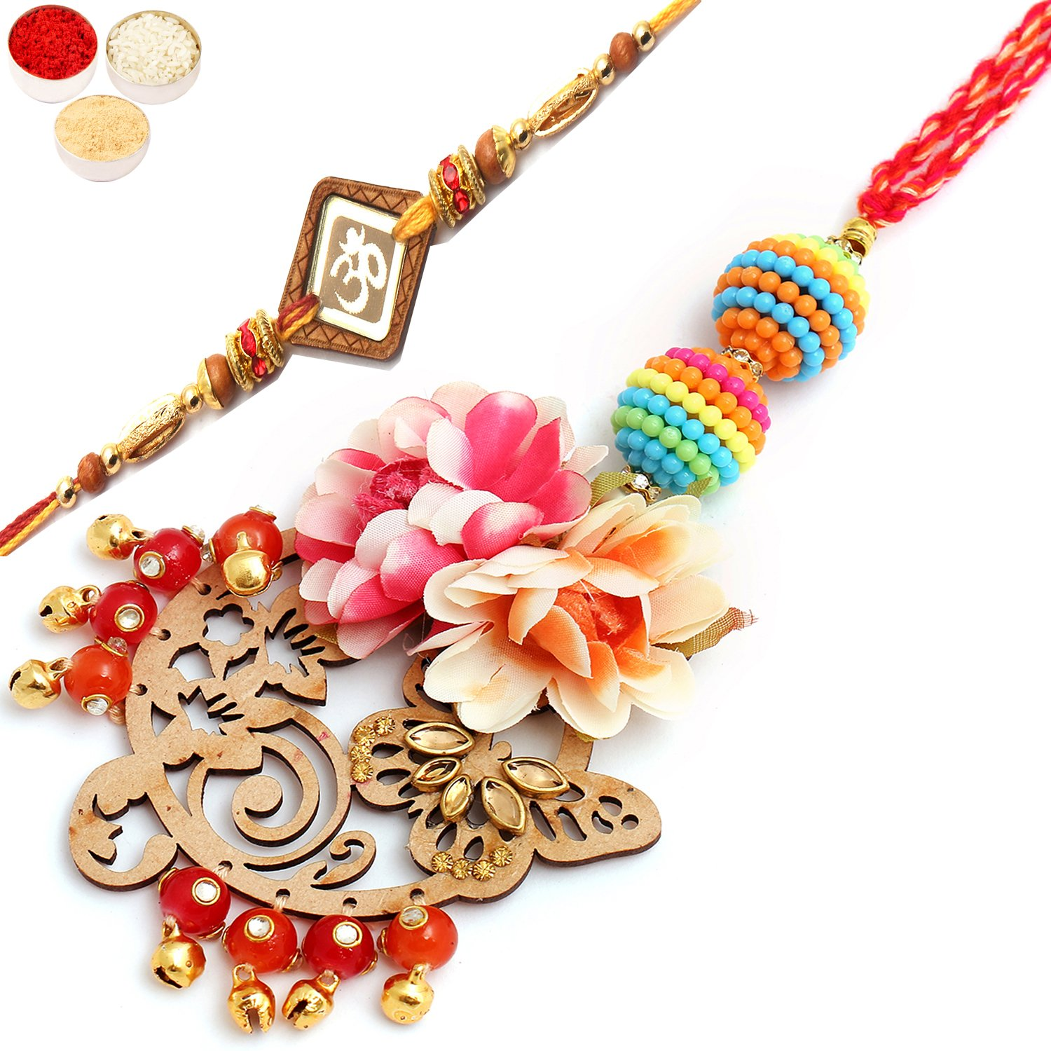 Showers of Care pl7901 Bhaiya Bhabhi Rakhi
