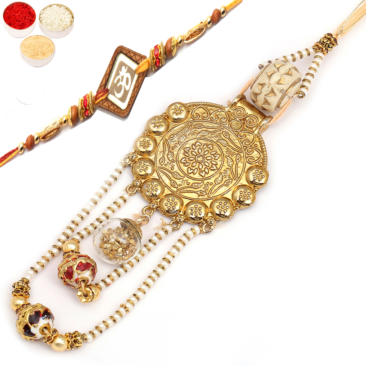 The Royal Quartz Bhaiya Bhabhi Rakhi
