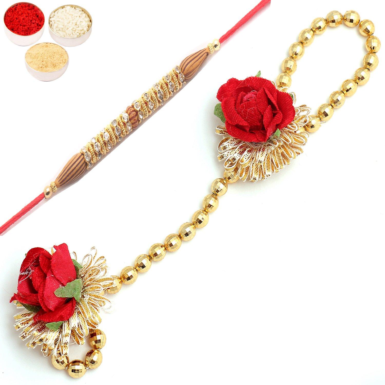 Pure as Pearls rm112 Bhaiya Bhabhi Rakhi