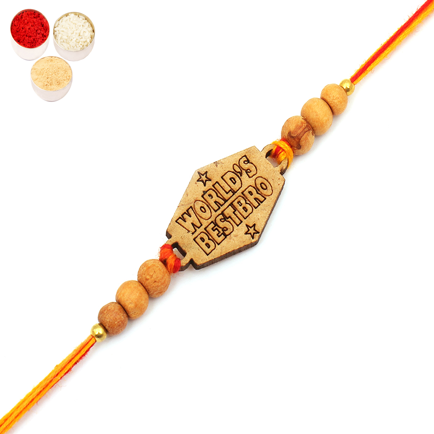 World's Best Bro Rakhi