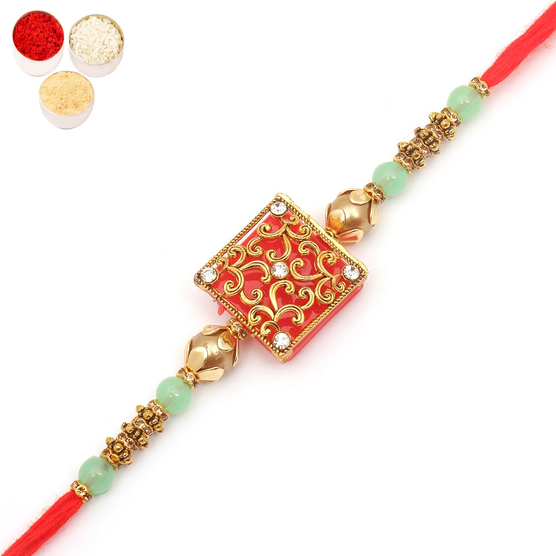 8216 Designer Fancy Thread Rakhi