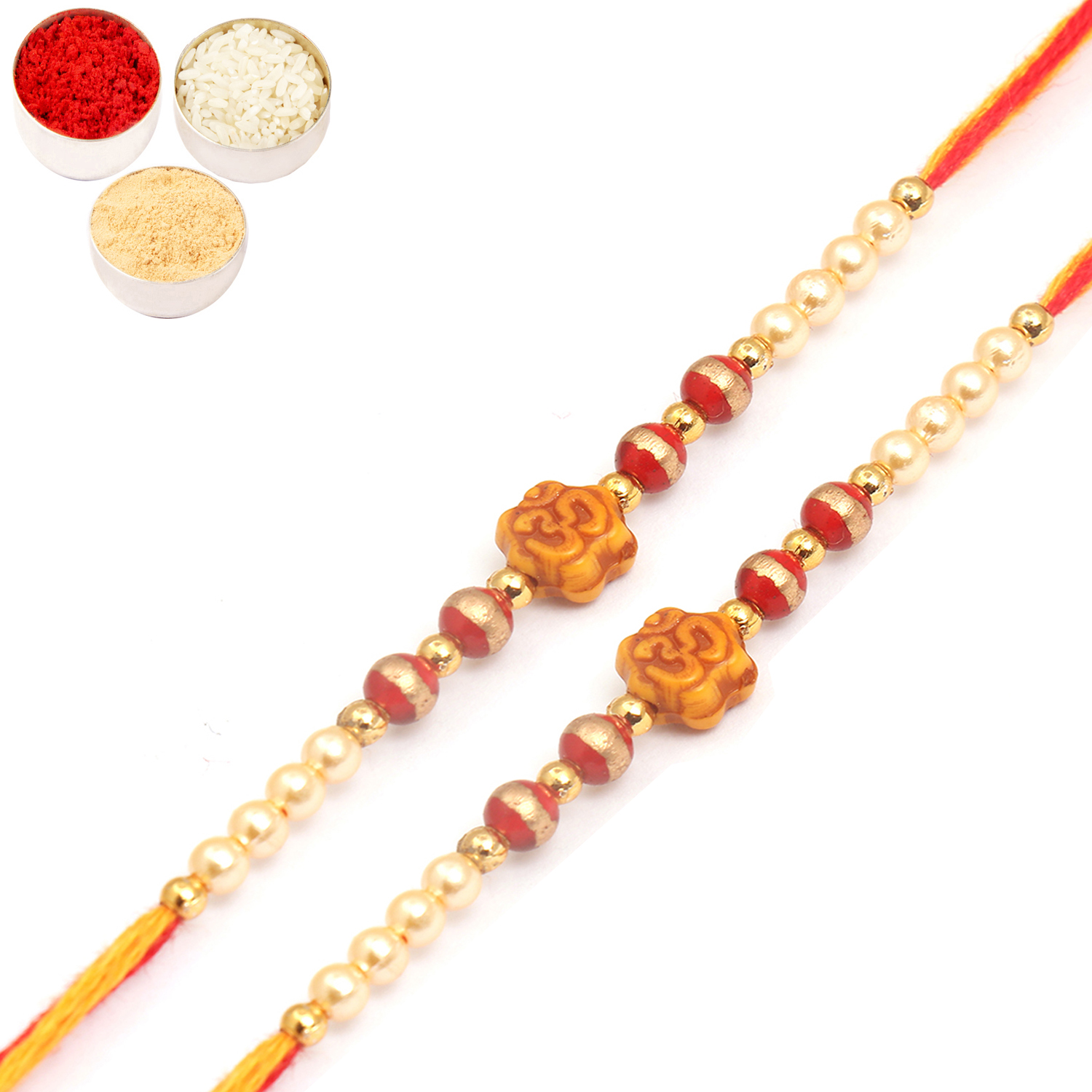 Set of Two 6043 Thread Rakhis