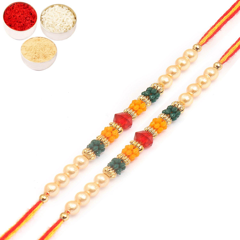 Set of Two 6054 Rakhi Threads